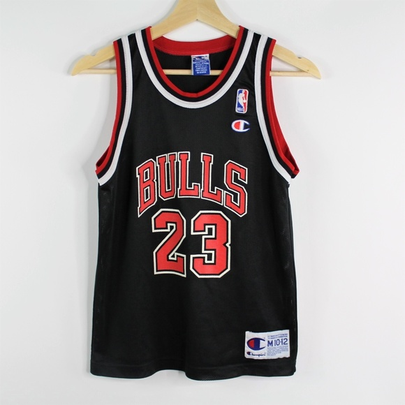 buy popular c02ef a174e Champion Michael Jordan 23 Chicago Bulls Jersey